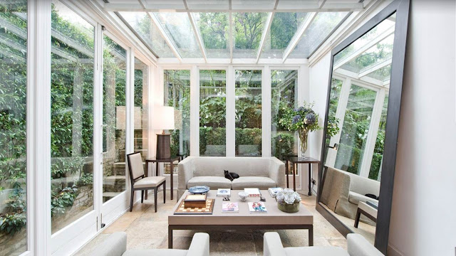 COCOCOZY: GLASS CEILING & GLASS WALLS!