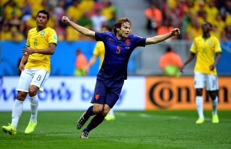 Kalahkan Brasil, Belanda sukses meraih Juara 3 Piala Dunia 2014
