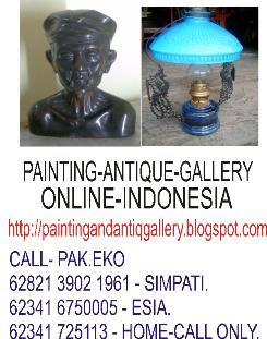 PAINTING AND ANTIQUE GALLERY ONLINE INDONESIA