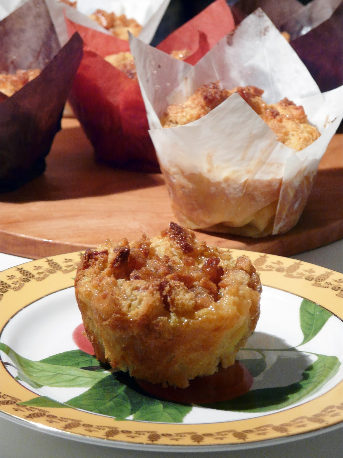 Thibeault's Table: Bread Pudding Muffins with Caramelized ...