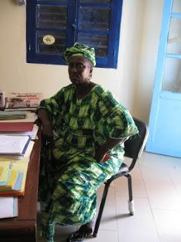 Madame Thioune la surveillante des élèves