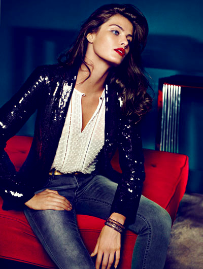 Fall Wallpaper on New Pics              Isabeli Fontana For Mango Fall 2011 Ad Campaign