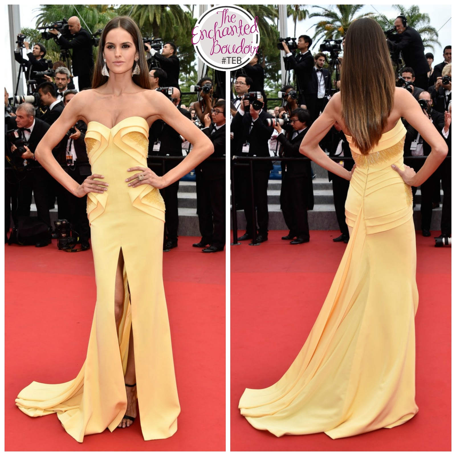 Models Cannes Festival Red Carpet