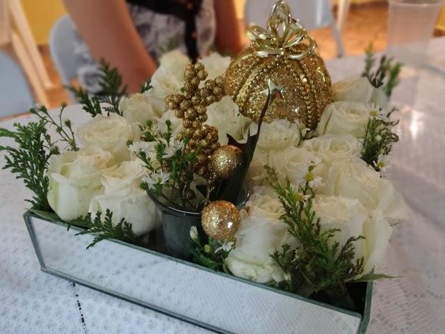 Arranjo floral reveillon