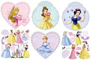 Imagen pegatinas princesas disney:Imagenes y dibujos para imprimir