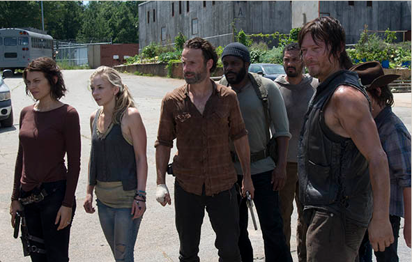 The Walking Dead 4x08 - Too Far Gone:  Rick vs Gobernador