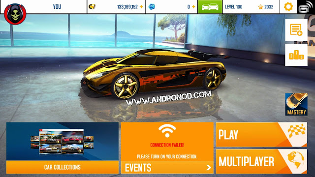 Asphalt 8 Airborne Apk + Data v2.0.0j Mod Unlimited Money