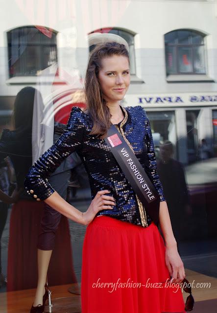 Vip fashion style model at barona street fashion show