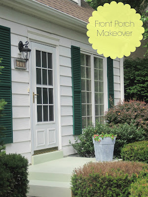 Behr Porch Paint Makeover