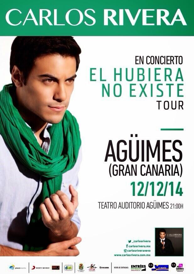 """Carlos Rivera: """"El hubiera no existe Tour"""""""