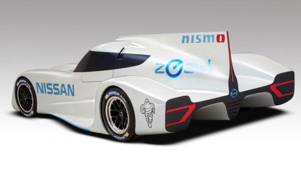 Nissan Zeod RC, Mobil Listrik Tercepat Di Dunia