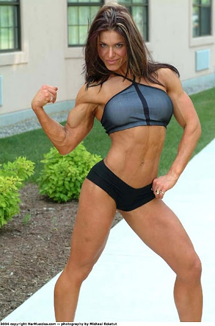 Debbie Leung - Canadian IFBB Pro Figure Competitor