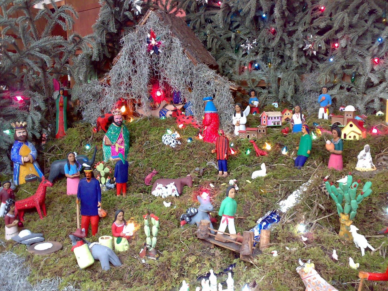 Las tradiciones navide as mexicanas y el uso de la for Figuras de nieve navidenas
