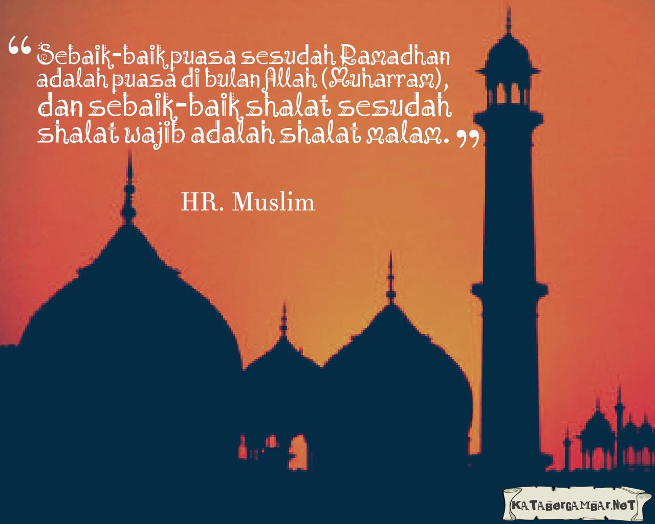 Sebaik Baik Puasa Sesudah Ramadhan Adalah Puasa Di Bulan Muharram