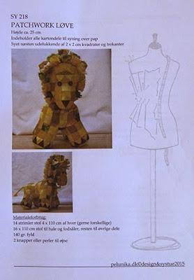 Løve mønster fra Pelunika