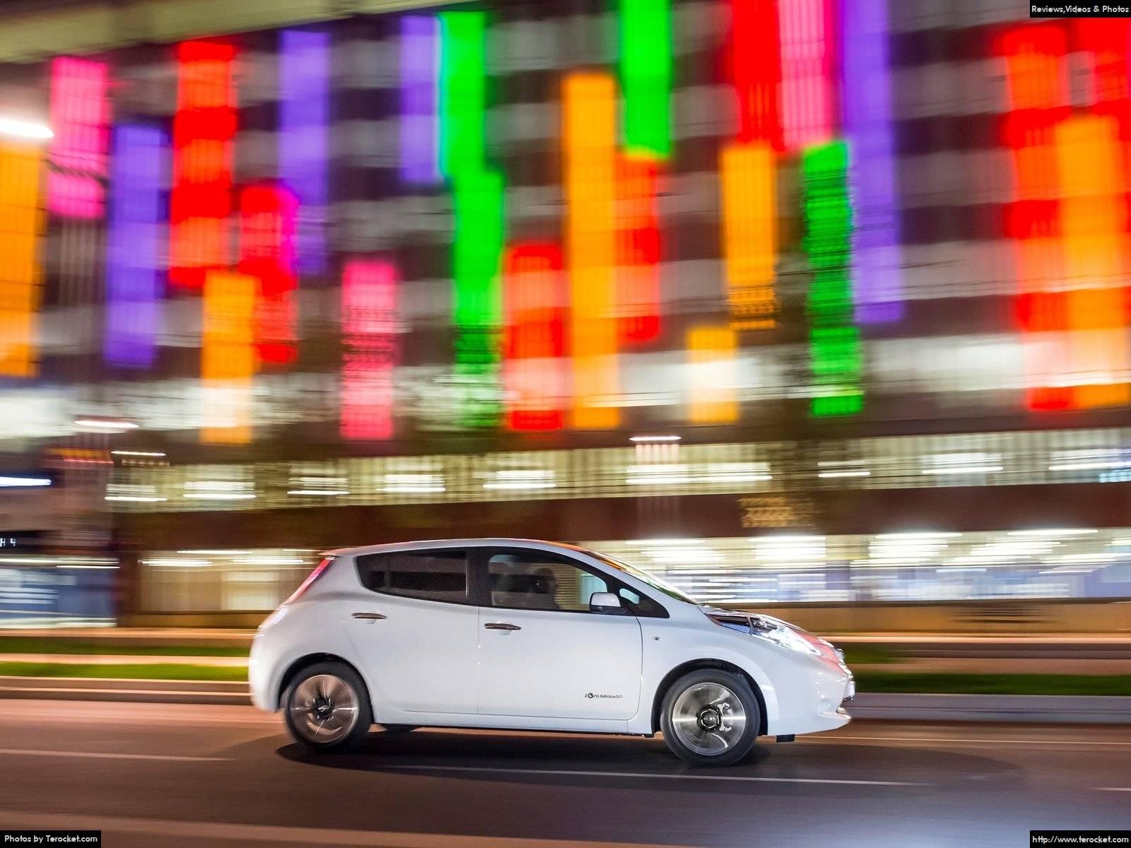 Hình ảnh xe ô tô Nissan Leaf 30 kWh 2016 & nội ngoại thất