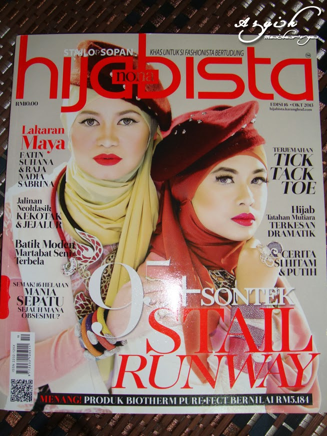 Featured Hijabista Magazine October 2013