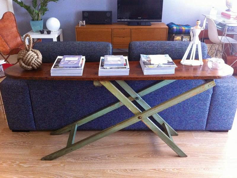 Tocando mis sue os 8 formas de reutilizar la tabla de for Mesa para planchar