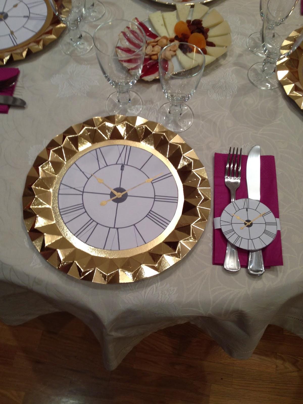 Ideas para una decoraci n de nochevieja fin de a o - Decoracion mesa nochevieja ...