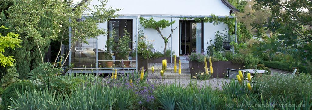 gartenblog geniesser garten staudenbeet im juni. Black Bedroom Furniture Sets. Home Design Ideas