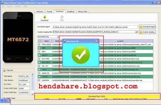Cara Flash Hp Advan Vandroid S5E Dengan Flash Tool