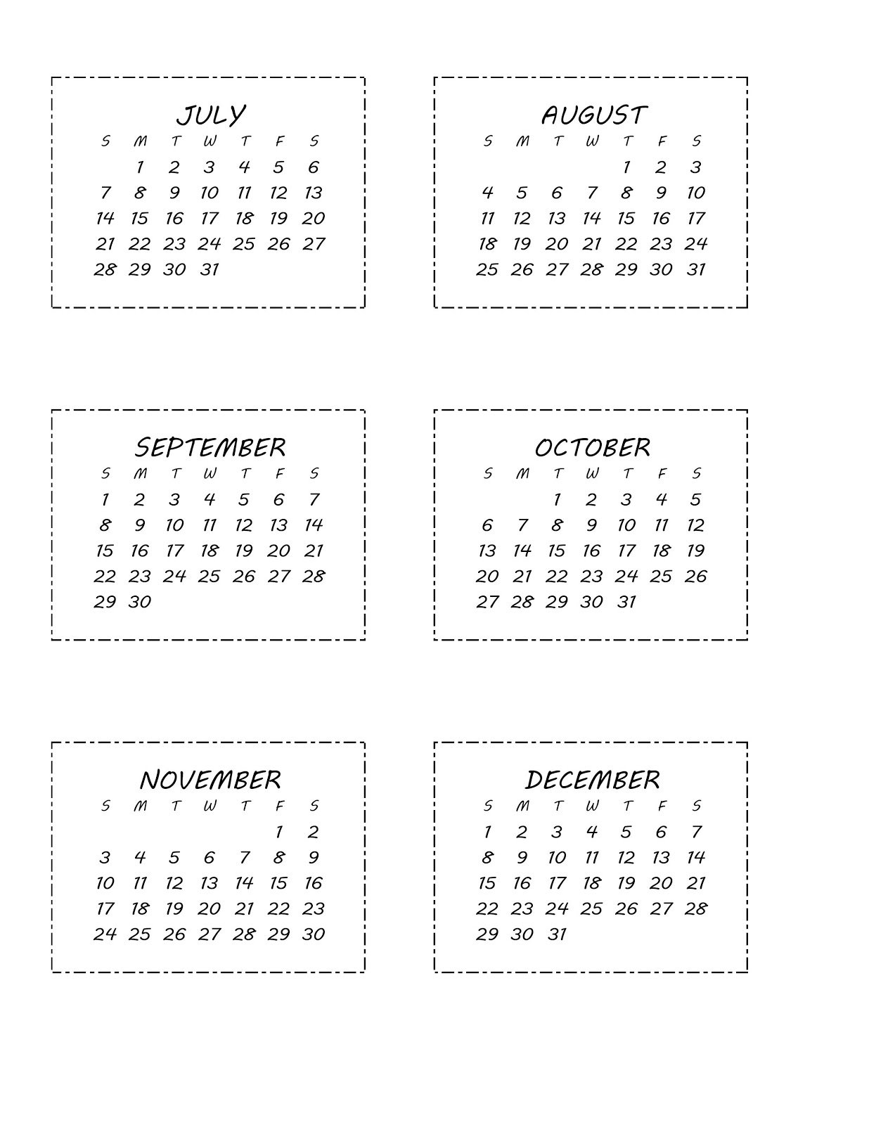 Printable 2012 12 Month Calendar/page/2 | Search Results | Calendar ...