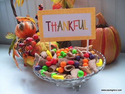Thanksgiving Bugle Cornucopia Mix