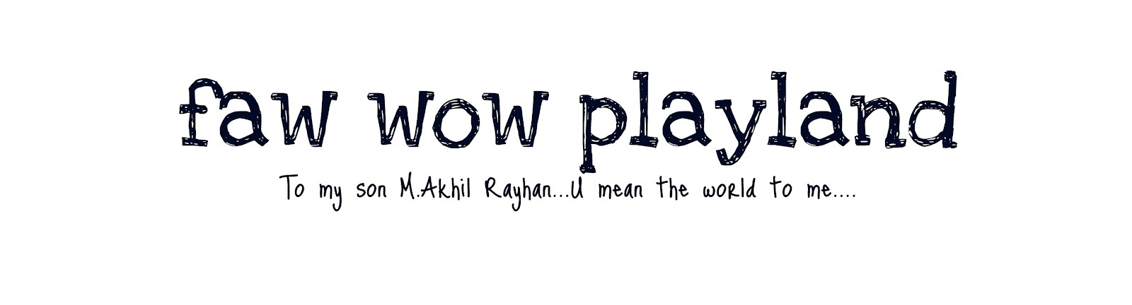 faw wow playland