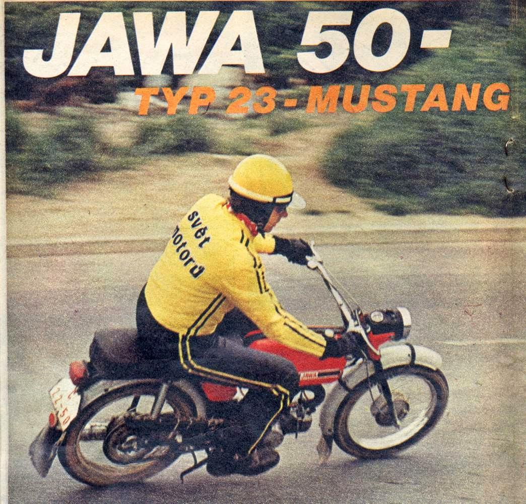 Zdjęcie z gazety Jawa mustang