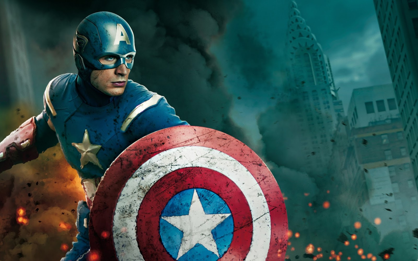 The First Soldier Captain America Wallpaper