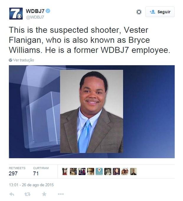 Suspeito de matar jornalistas nos EUA está MORTO!!!