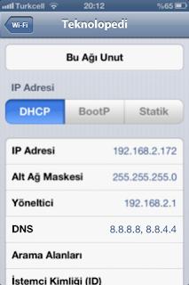 iPod,iPhone,iPad Yasaklı Sitelere Giriş