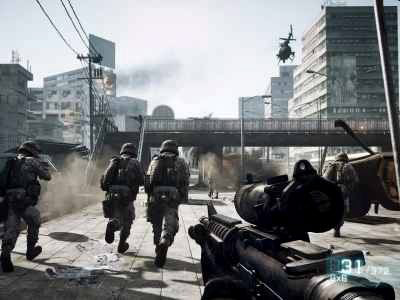 Games on Top 10 Pc Games Battlefield 3 Png