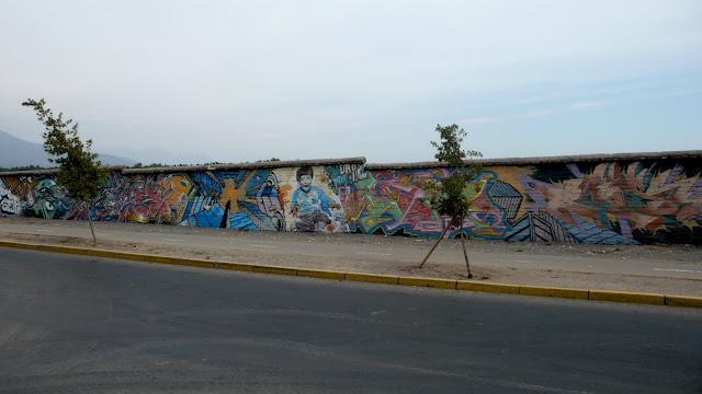 street art santiago de chile metro los presidentes arte callejero