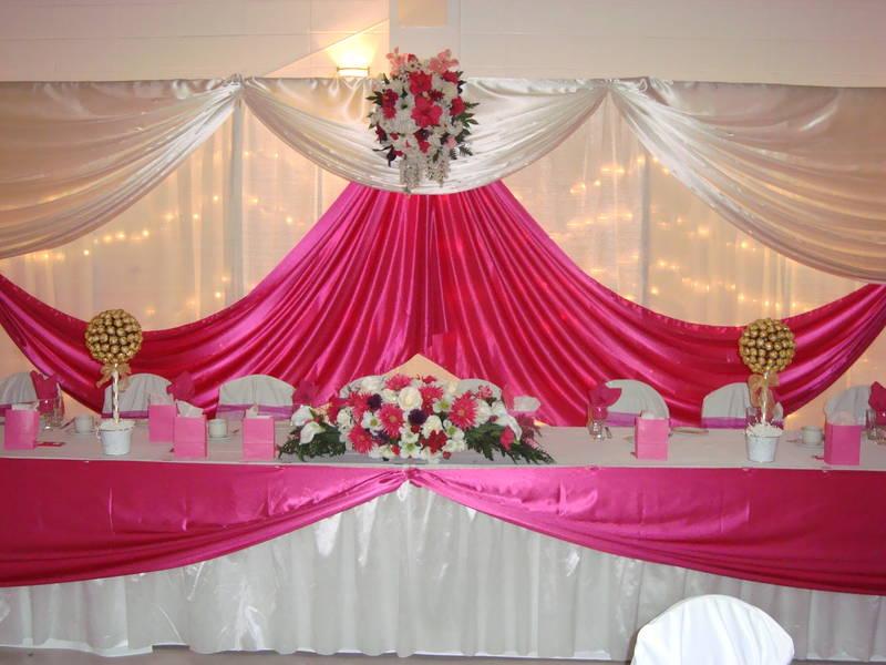 Wedding Decoration Reception Decor Ideas Table