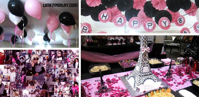 Time2Partay.blogspot.com: Paris Themed Party