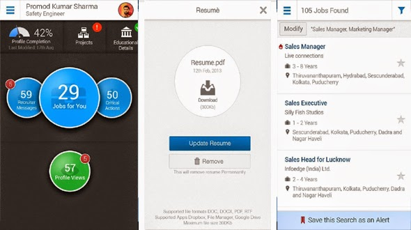 Best Android App for job seekers