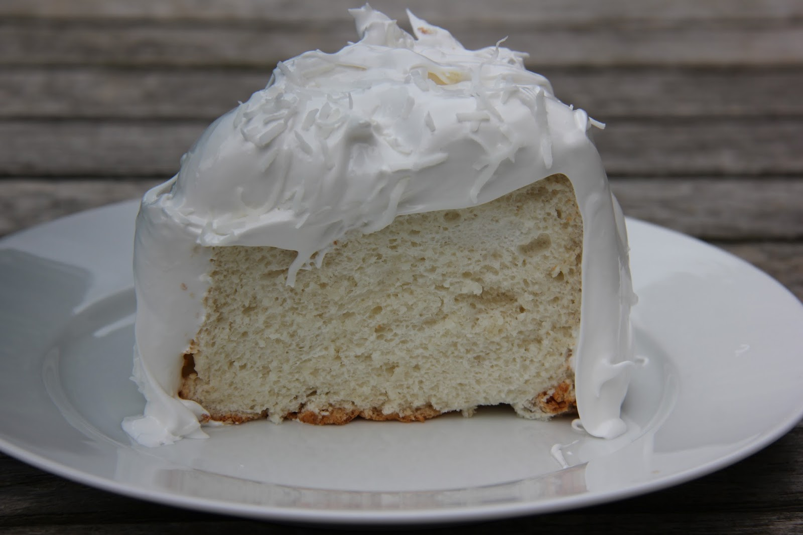 Passion for Baking: Coconut Angel Food Cake