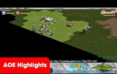 AOE Highlights, Hồng Anh, No1 bất lực nhìn Chim Sẻ Đi Nắng cầm greek cân bản đồ (BLV Tuấn Tiền Tỉ)