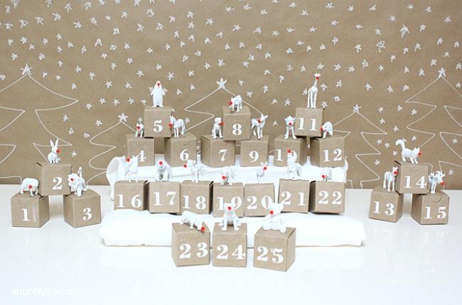 Navidad DIY: Calendarios de adviento