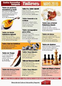 Ofertan talleres en el Centro Recreativo Xalapeño