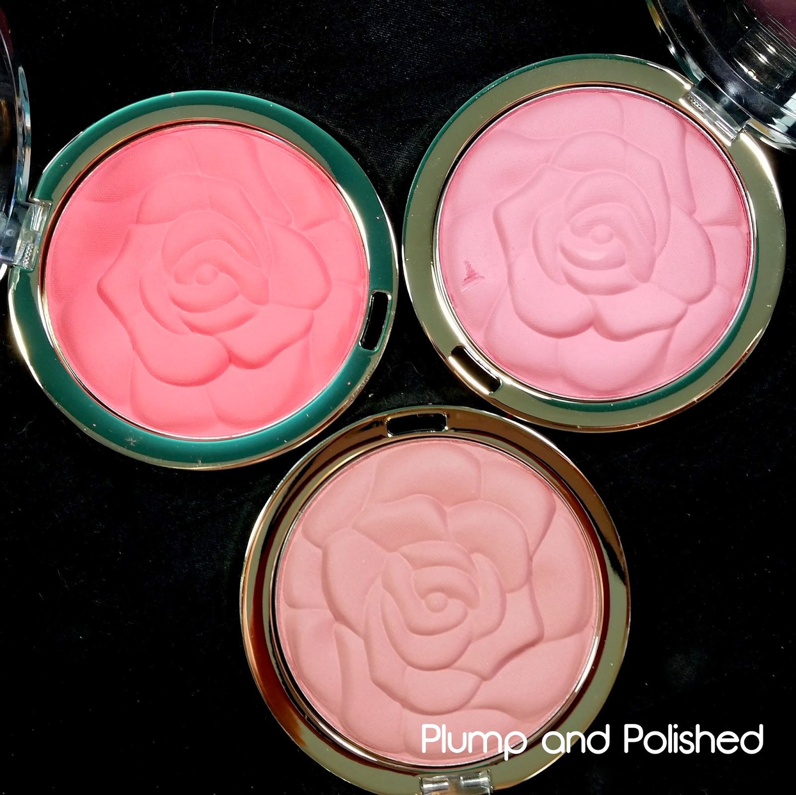 Milani - Rose Powder Blushes [Spring 2015]