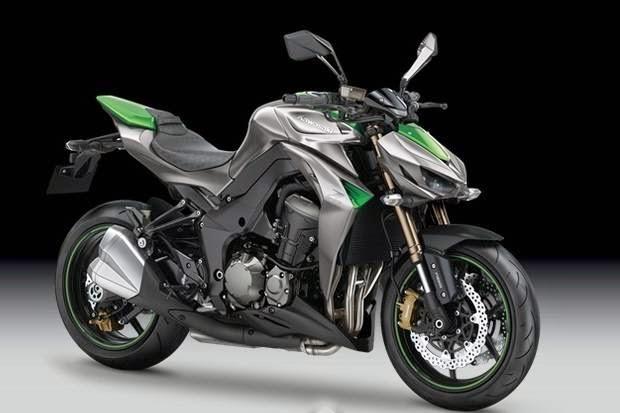 The newest Kawasaki naked bike