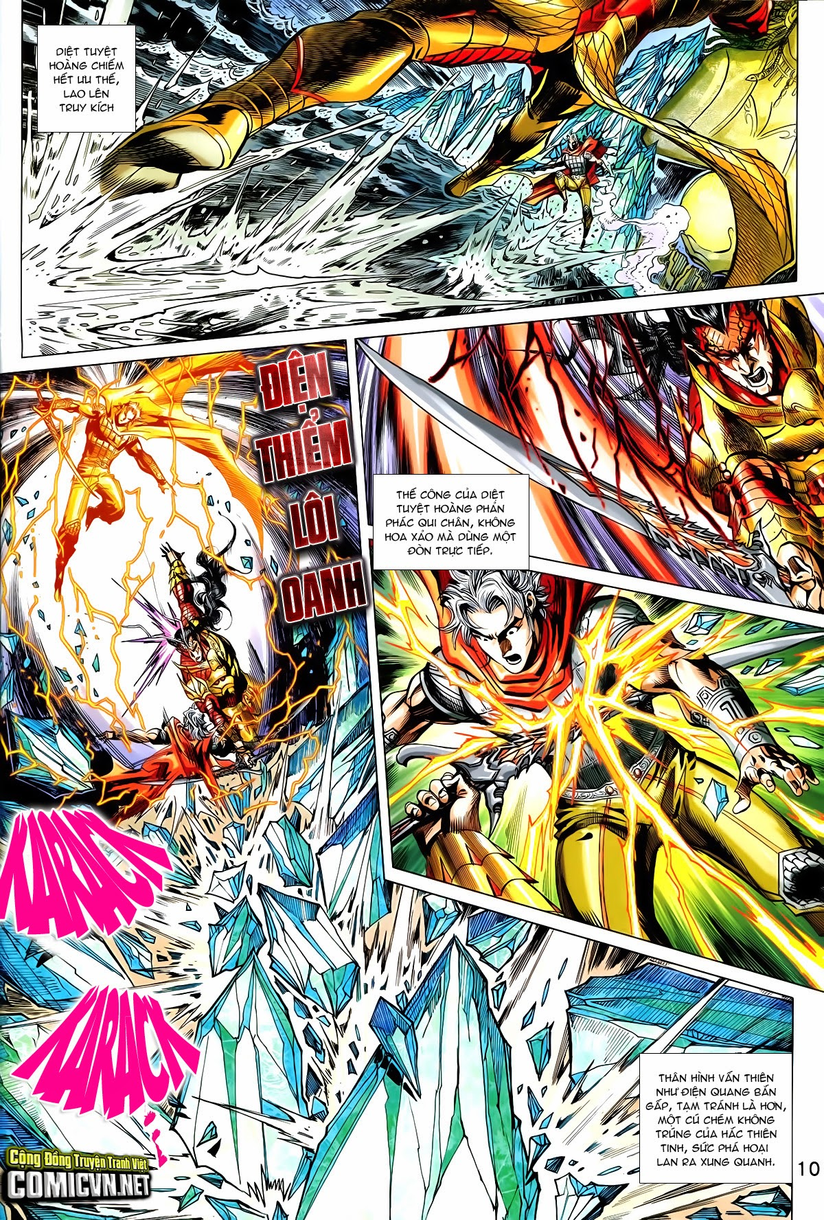 Thần Binh Vấn Thiên chap 36 Trang 9 - Mangak.info