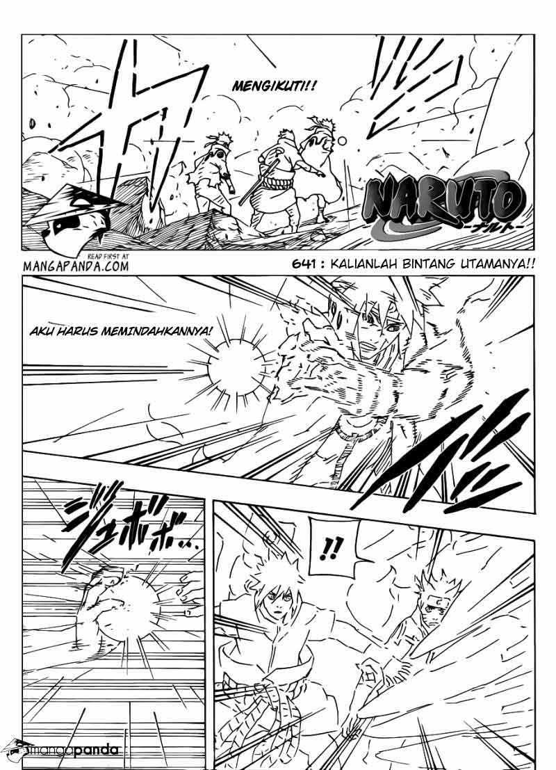"Naruto Chapter 641 Bahasa Indonesia - ""Kalianlah Bintang Utamanya ..."