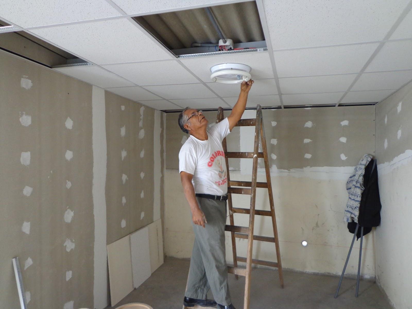 Drywall estructuras met licas electricidad sanitarios lima for Modelos de gibson para techos