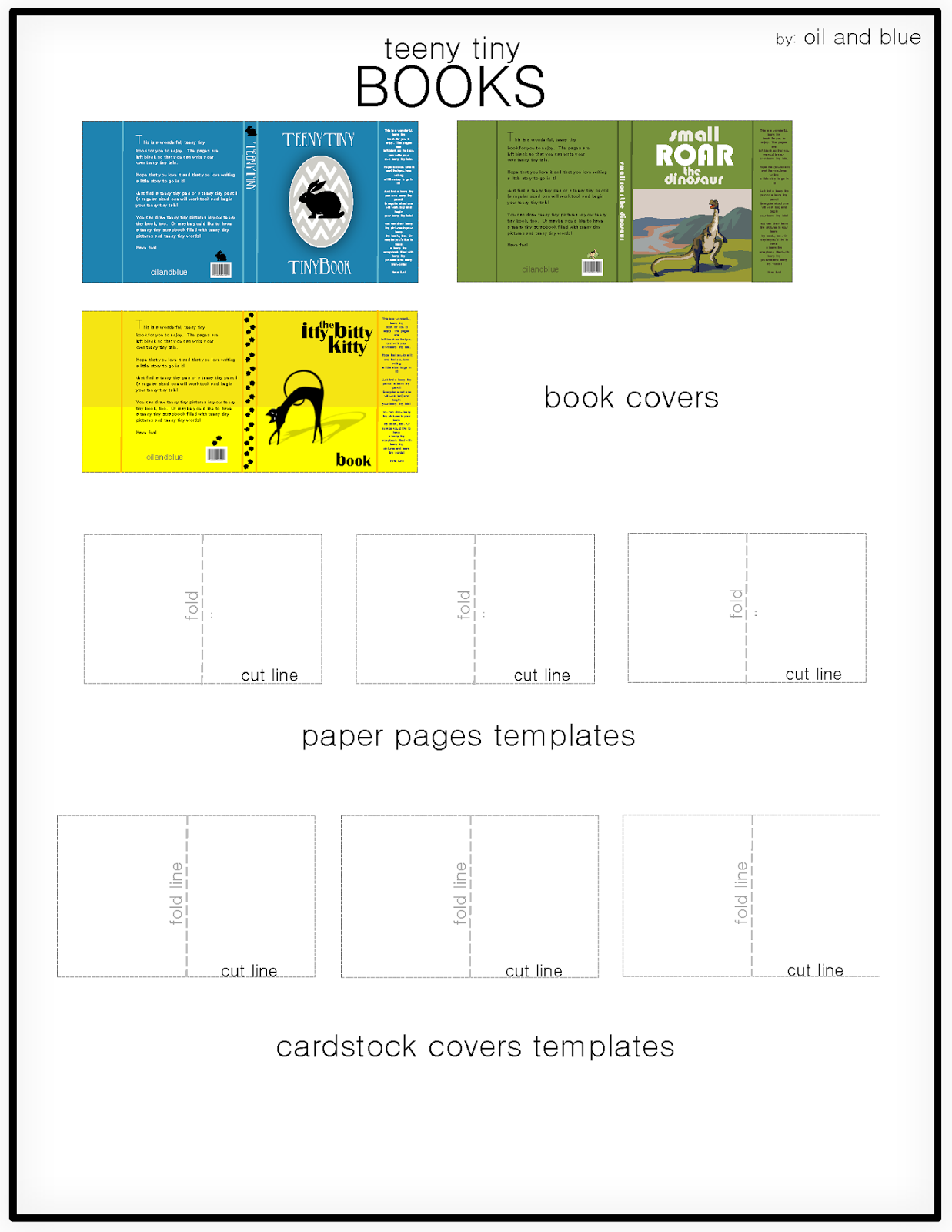 books templates free download