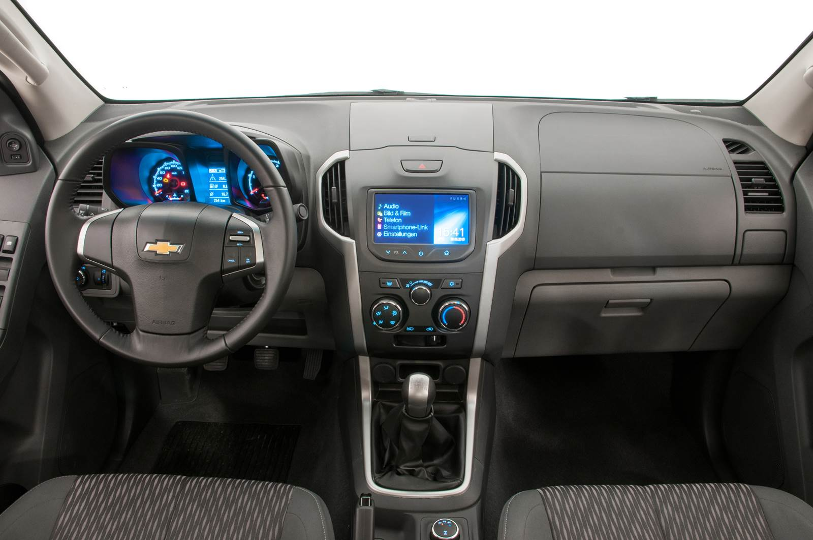 Chevrolet S-10 2.5 2015 Cabine Dupla Flex - interior