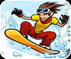 Siêu sao trượt tuyết, game the thao