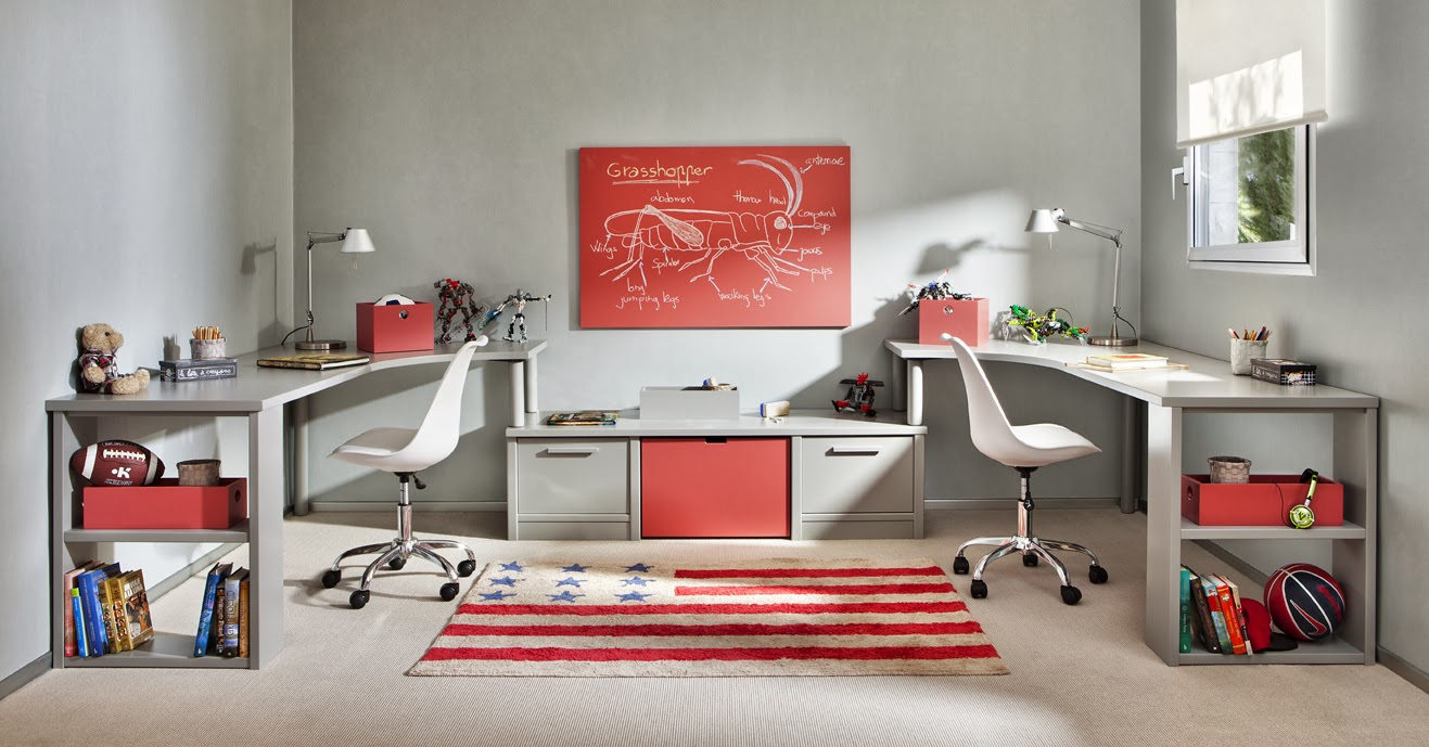 Como decorar un dormitorio juvenil - Como decorar un estudio ...